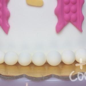 Pastís aniversari bebe