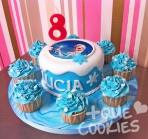 Cake+cupcakes Frozen