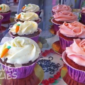 carrot cake i red velvet