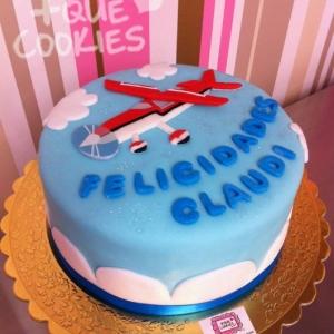 Cake avioneta