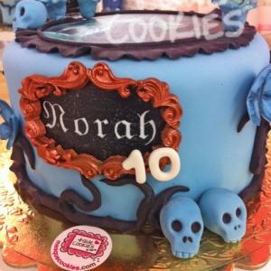 La Novia cadáver Norah