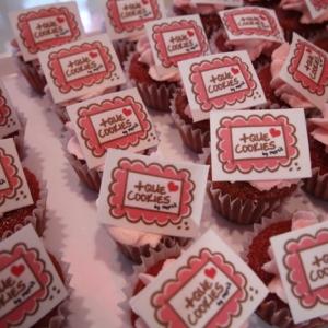 Cupcakes red velvet + que cookies