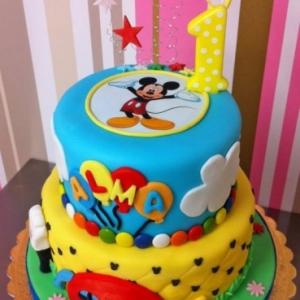 Pastís Mickey Mouse