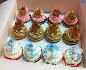 Minicupcakes Nadal