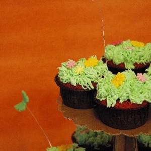 Cupcakes pascua
