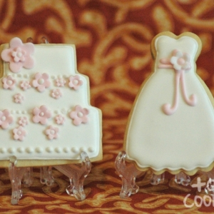 Vestido i pastel boda